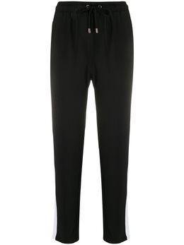 Liu Jo спортивные брюки с декором на лампасах TA0027T8423