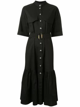 Ginger & Smart платье-рубашка Prosper с поясом W20509