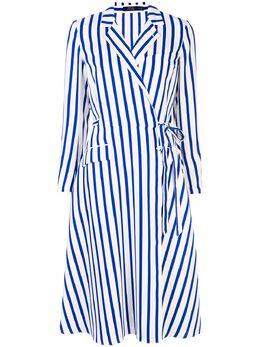 Polo Ralph Lauren платье в полоску с запахом 211781152001