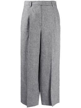 Lorena Antoniazzi брюки прямого кроя со складками P2028PA0923208