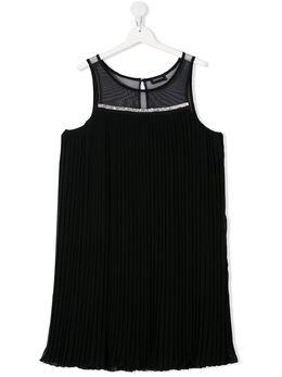Monnalisa платье мини со вставками 415916AL5353