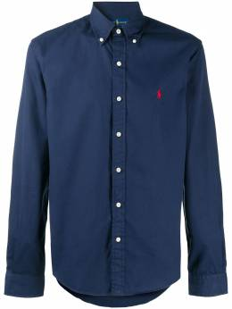 Ralph Lauren рубашка с вышитым логотипом 710796726
