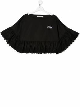 Philosophy Di Lorenzo Serafini Kids укороченная блузка с оборками PJCA38CA244VH012