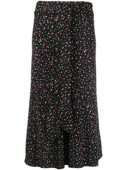Dvf Diane Von Furstenberg декорированная юбка миди 13747DVF