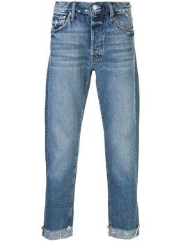 Mother джинсы The Chaser с бахромой 5114313