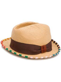 Paul Smith шляпа с отделкой в полоску M1A239FAH547