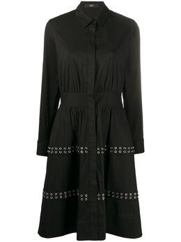 Steffen Schraut расклешенное платье с длинными рукавами 20018246