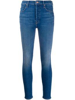 Mother укороченные джинсы Super Stunner 1521775