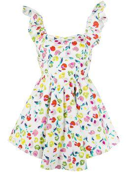 Amen короткое платье с принтом AMS20459