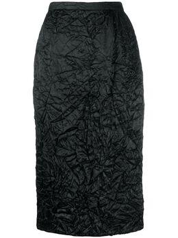 Rochas юбка-карандаш с жатым эффектом ROPQ352001RQ290200