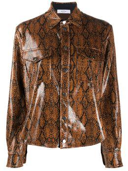 Roseanna рубашка Wilson со змеиным принтом PYTHONWILSON