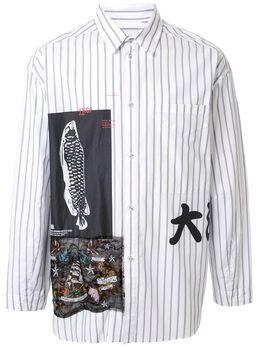 Yoshiokubo рубашка с длинными рукавами и принтом YKS20214