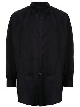 Sulvam рубашка оверсайз с выточками SLB031