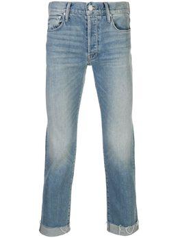 Mother джинсы The Neat с бахромой 5151259