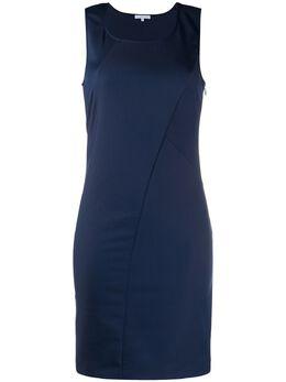 Patrizia Pepe однотонное приталенное платье CA0609AQ39