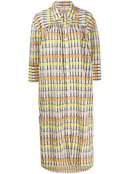 Baum Und Pferdgarten платье-рубашка Aenya в клетку 20815