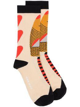 Henrik Vibskov трикотажные носки с цветочным узором S203
