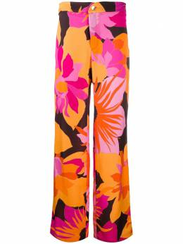 Roseanna брюки Gangster Lee с цветочным принтом LEEGANGSTER