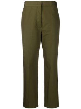 Jil Sander укороченные брюки кроя слим JSPQ301501WQ241300