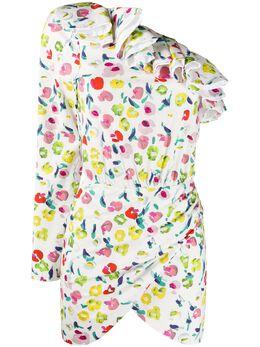 Amen платье мини с цветочным принтом AMS20453
