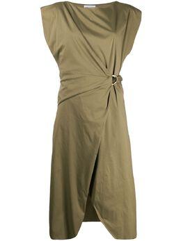 Patrizia Pepe платье с D-образной пряжкой 2A2034A23