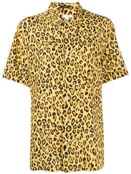 R13 рубашка с леопардовым принтом R13W7619152