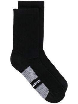 Rick Owens носки с логотипом RU20S7498C