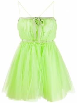 Brognano короткое платье из тюля 28BR1A07204254