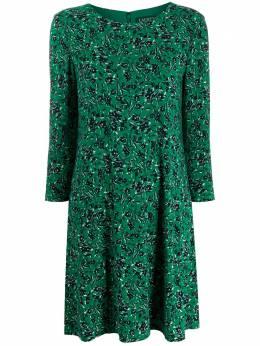 Lauren Ralph Lauren расклешенное платье с цветочным принтом 250799401