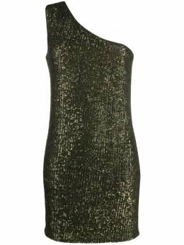 Liu Jo платье на одно плечо с пайетками WA0101J5813
