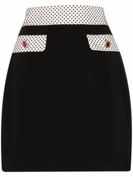 Rixo юбка мини Sofia из коллаборации с Christian Lacroix RIX20174220856