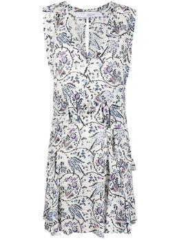 Iro ярусное платье с цветочным принтом WMVARIETY