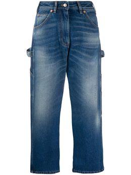 Mm6 Maison Margiela укороченные джинсы прямого кроя S32LA0217S30589