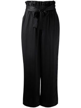 3.1 Phillip Lim атласные укороченные брюки с присборенной талией P1915542NVS
