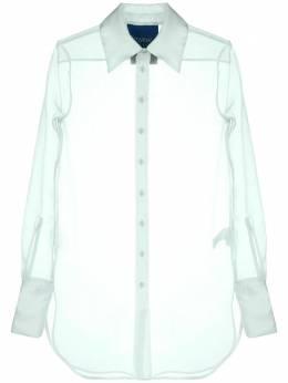Simon Miller удлиненная прозрачная рубашка W5323092