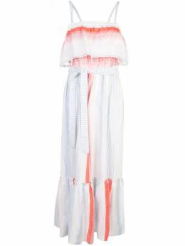 Lemlem платье Biftu с оборками RW2040CORAL