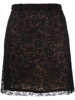 Versace Pre-Owned кружевная юбка 1990-х годов VRS280P