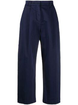 Ymc укороченные брюки со складками Q4NAI