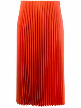 Theory pleated straight skirt J1205305