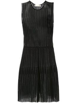 Dion Lee плиссированное платье годе A7338R20