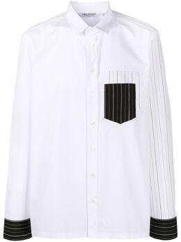 Neil Barrett рубашка с длинными рукавами BCM1350CDN166C