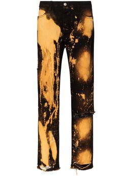 424 джинсы с эффектом разбрызганной краски 424MSS20007