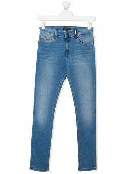 Tommy Hilfiger Junior TEEN mid-rise slim-fit jeans KB0KB05557
