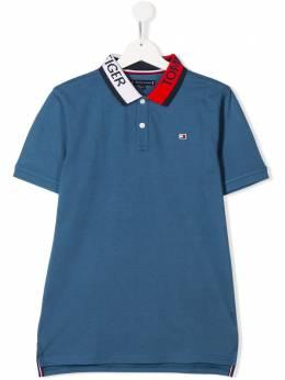 Tommy Hilfiger Junior TEEN logo collar polo shirt KB0KB05658