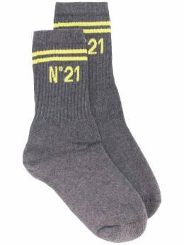 No. 21 носки в рубчик с логотипом N2M30809101
