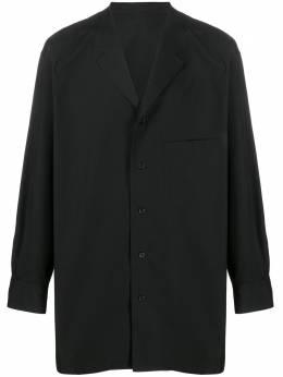 Yohji Yamamoto длинная рубашка на пуговицах HNB14014