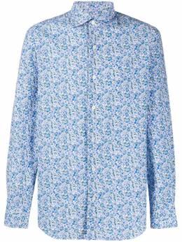 Finamore 1925 Napoli рубашка с цветочным принтом 081311P2081