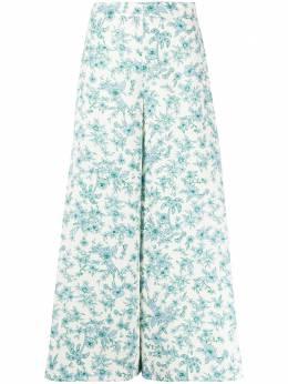 Vivetta брюки с цветочным принтом V2MB0525310