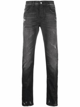 Frankie Morello прямые джинсы с эффектом потертости FMS0005JE100319