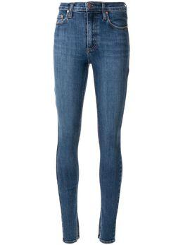 Nobody Denim джинсы скинни Cult с разрезами P8228